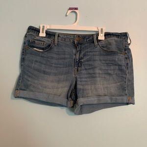 Pants - High Rise Jean Shorts
